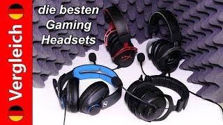 Die besten Stereo Gaming-Headsets (Dezember 2017)