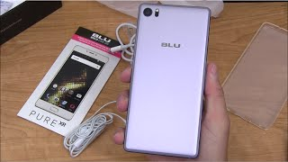 Blu Pure XR Unboxing and Impressions