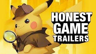DETECTIVE PIKACHU (Honest Game Trailers)