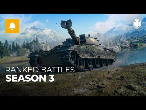 Ranked Battles, Season 3. Coming Soon [World of Tanks]