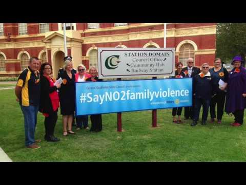 #sayNO2familyviolence