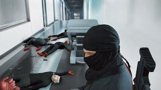 HITMAN 47 in Action - Rifle Assault (Ninja Suit)