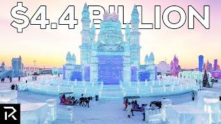 China's $4.4 Billion Dollar City Made Of Ice