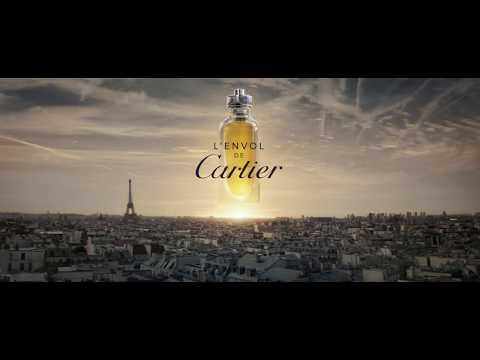 Parfum CARTIER L'ENVOL DE CARTIER EDT 80ML + DÉODORANT Neuf