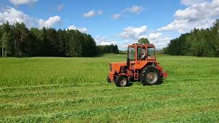 T-25 Mowing Hay