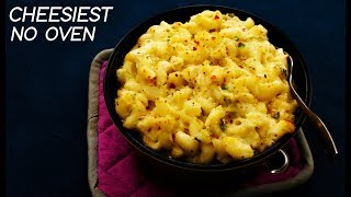 Mac & Cheese - No Bake Indian Style Pasta And Macaroni Recipes - CookingShooking
