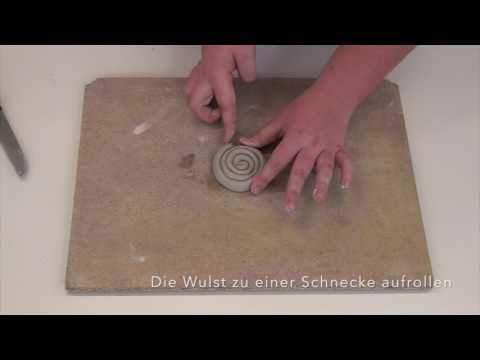 Arbeit mit Ton: die Wulsttechnik