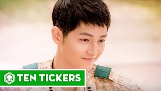Top 10 vai diễn nổi bật nhất của Song Joong Ki | Ten Tickers Asia 2