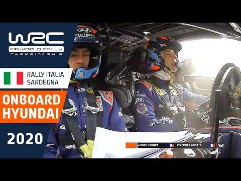 ヒュンダイのドライバーから見るオンボード映像を各ドライバー毎に比較 WRC ラリー・イタリア・サルディニア