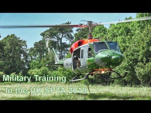 Salisbury Plain Training Area Flying - 2019