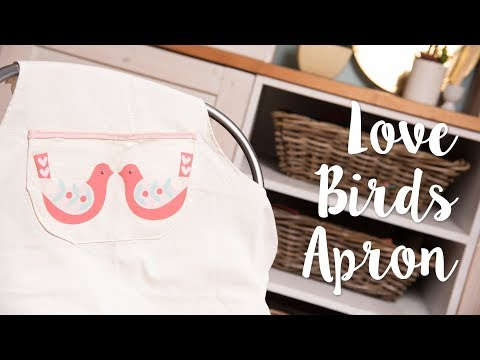 How to Create Folk Bird Apron - Sizzix