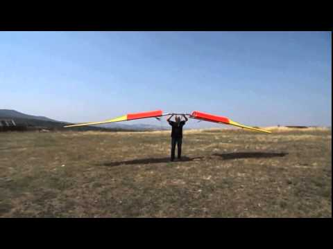 REALLY FIRST HUMAN POWERED ORNITHOPTER