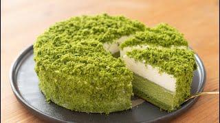 抹茶のドゥーブルフロマージュの作り方*チーズケーキ Matcha Double Fromage|HidaMari Cooking