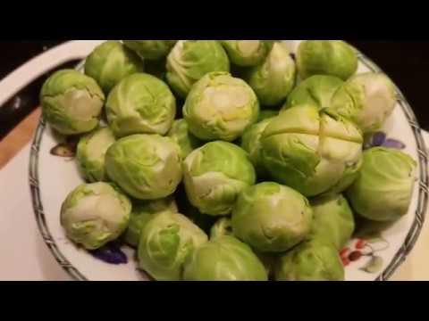 Готовим Брюссельскую капусту. Простой рецепт.