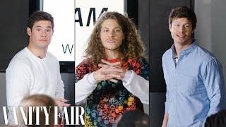 Workaholics Cast Improvises a PowerPoint Presentation | Vanity Fair - Video Youtube