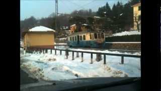preview picture of video 'Ferrovia Genova-Casella in inverno'