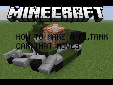 HOW TO MAKE A CAR WITH COMMAND BLOCK Minecraft Blog