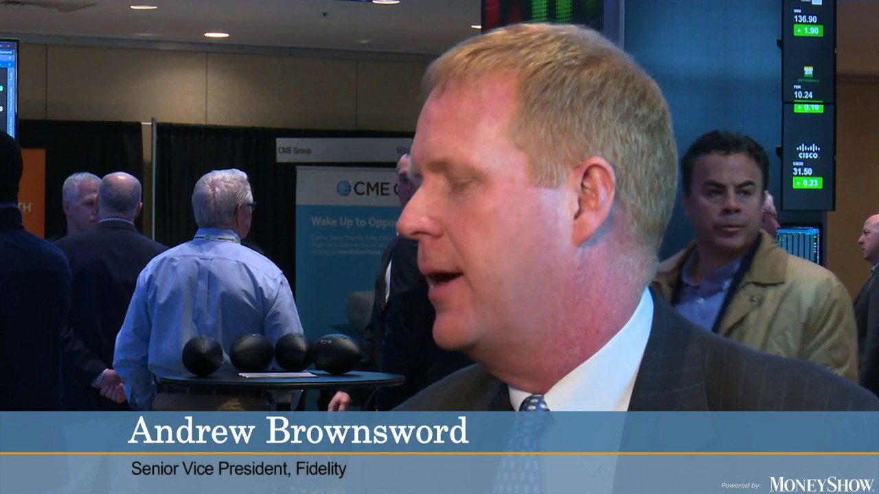 Andrew Brownsword on $4.95 lower trading cost at Fidelity Investments