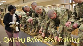 Quitting Before Basic Combat Training?