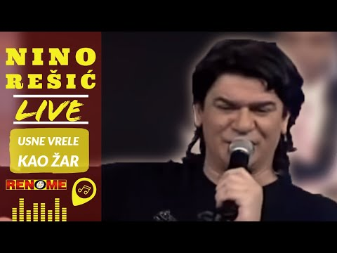 Nino - Usne vrele kao zar (Uzivo) - Zapjevaj uzivo (Renome 09.02.2007.)