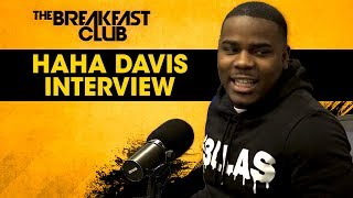 HaHa Davis Talks His Celebrity, Bombing On Stage, Being Catfished + More