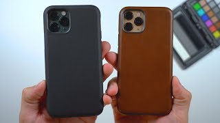 iPhone 11 Pro Leather Cases by Nomad