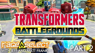Transformers: Battlegrounds (The Dojo) Let's Play - Part 2