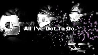 All I've Got To Do - The Beatles karaoke cover