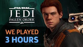 We Played 3 Hours Of Star Wars Jedi: Fallen Order