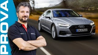 Audi A7 | Jet privato su quattro ruote (sterzanti) - Video Test