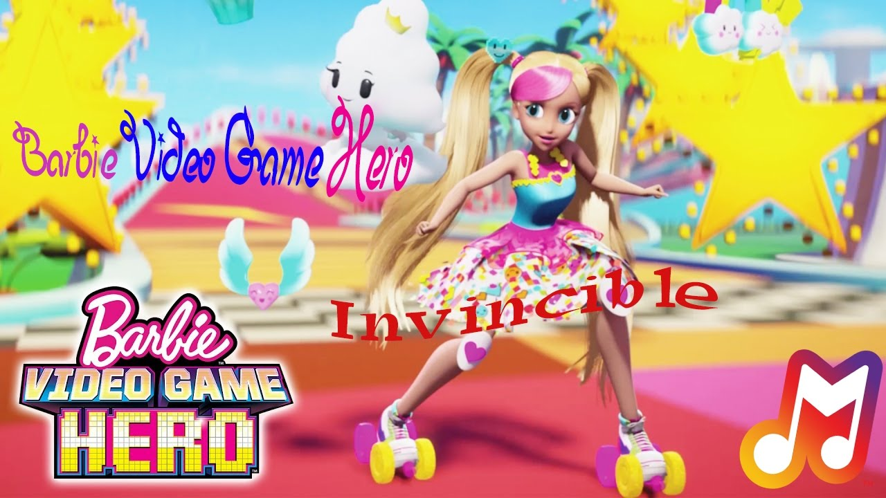 Barbie Video Game Hero - Invincible Lyrics . .