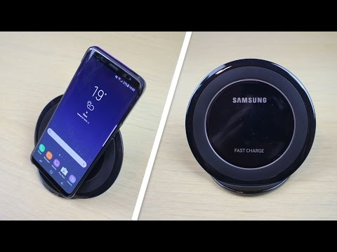 Samsung Galaxy S8 Wireless Charger Dock FAST CHARGE - Unboxing & Review