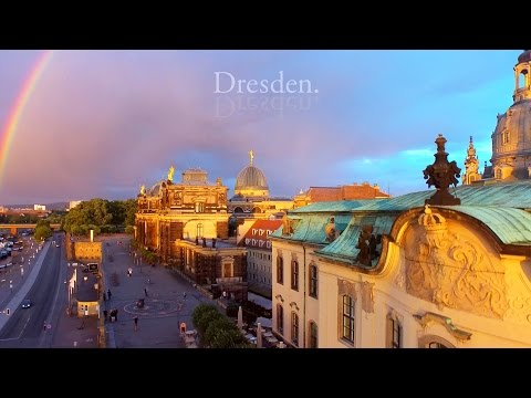 A Bird's-Eye View of Dresden, Germany /