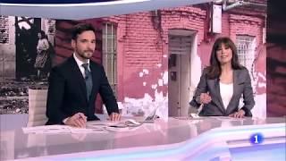 "Espacio ""Te acuerdas. La casa tiroteada de Robert Capa"". Telediario RTVE"