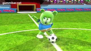 Gummib r   A Jugar   World Cup Soccer Football Song   Spanish   Gummy Bear   Osito Gominola