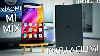 Bu Telefonsa Diğerleri Ne ? Xiaomi Mi Mix Kutu Açılımı (Türkiye'de İlk)