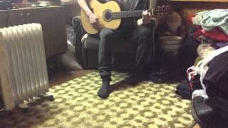 Песня под гитару(Милая Алёнка)