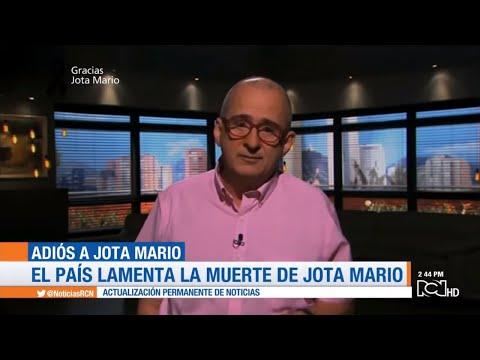 Conmovedora despedida de presentadores de Noticias RCN a Jota Mario Valencia