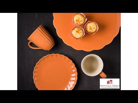 IB Laursen Mynte Geschirr in Pumpkin Spice Orange