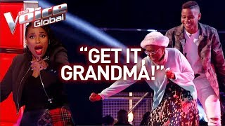 16 Year Old And Grandmother Steal The Show In The Voice! | Journey #28