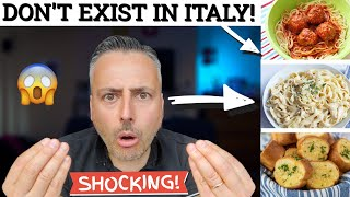 8 ITALIAN FOODS THAT DONT EXIST IN ITALY