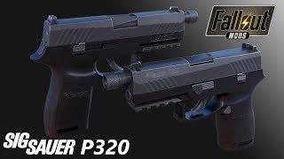 Sig Sauer P320 - Semi Automatic Pistol Showcase