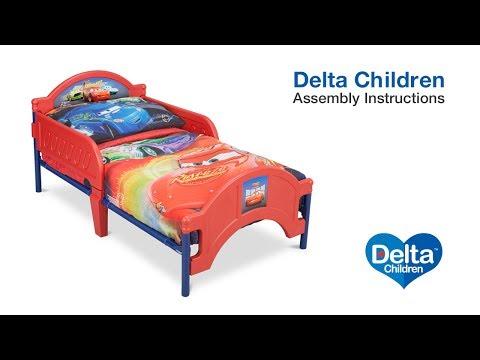 Delta Children Toddler Bed Assembly Video