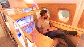 EMIRATES A380 BUSINESS CLASS DETAILED REVIEW!