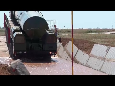 Экстремальное вождение пусковых установок стратегических ракетных комплексов