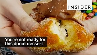 Youre Not Ready For This Donut Dessert Bar