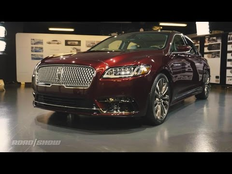 Lincoln hopes new Continental flagship sedan will put it back on the luxury map