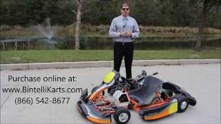 Bintelli Karts S1 Racing Go Karts For Sale - Adult Racing Kart Now Available!