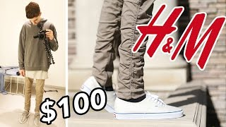 THE $100 H&M OUTFIT CHALLENGE FOR FALL!!