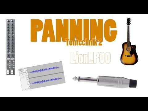 Panning | Gitarre und Gesang aufnehmen | lio.youtube | Tontechnik Part 2
